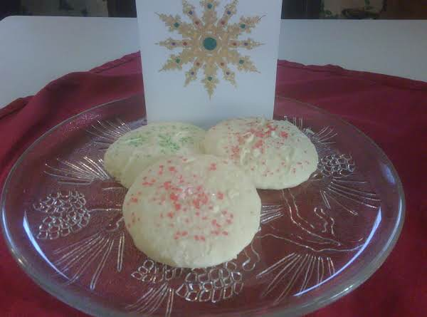 Soft Christmas Sugar Cookies Recipe