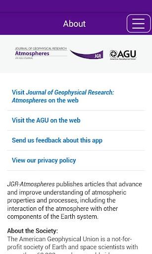 JGR: Atmospheres