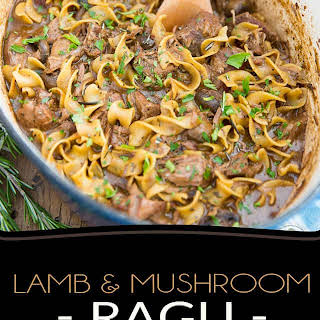 Lamb and Mushroom Ragu.