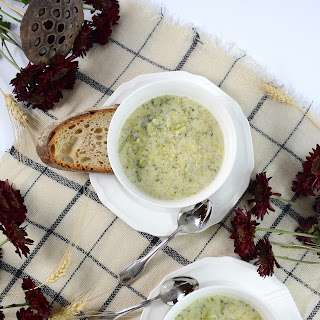 Parmesan White Cheddar Broccoli Soup