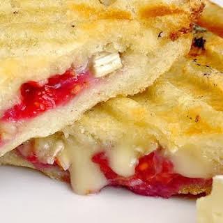 Raspberry Brie Panini.