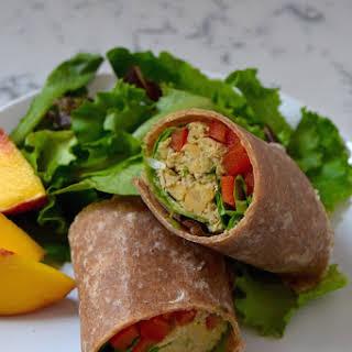 My Go-To Chickpea Tuna Salad.