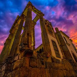 templo de Diana, Mérida by -. Phooneenix .- - Buildings & Architecture Statues & Monuments
