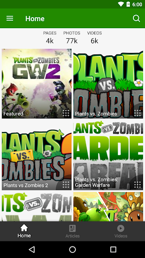 FANDOM for: Plants vs. Zombies 2.9.8 screenshots 1