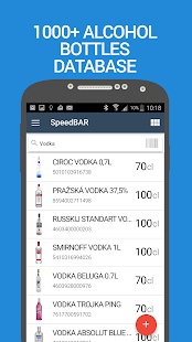SpeedBAR Lite liquor inventory- screenshot thumbnail
