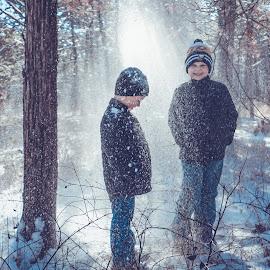 Snow Day Play by Kathy Suttles - Babies & Children Children Candids (  )
