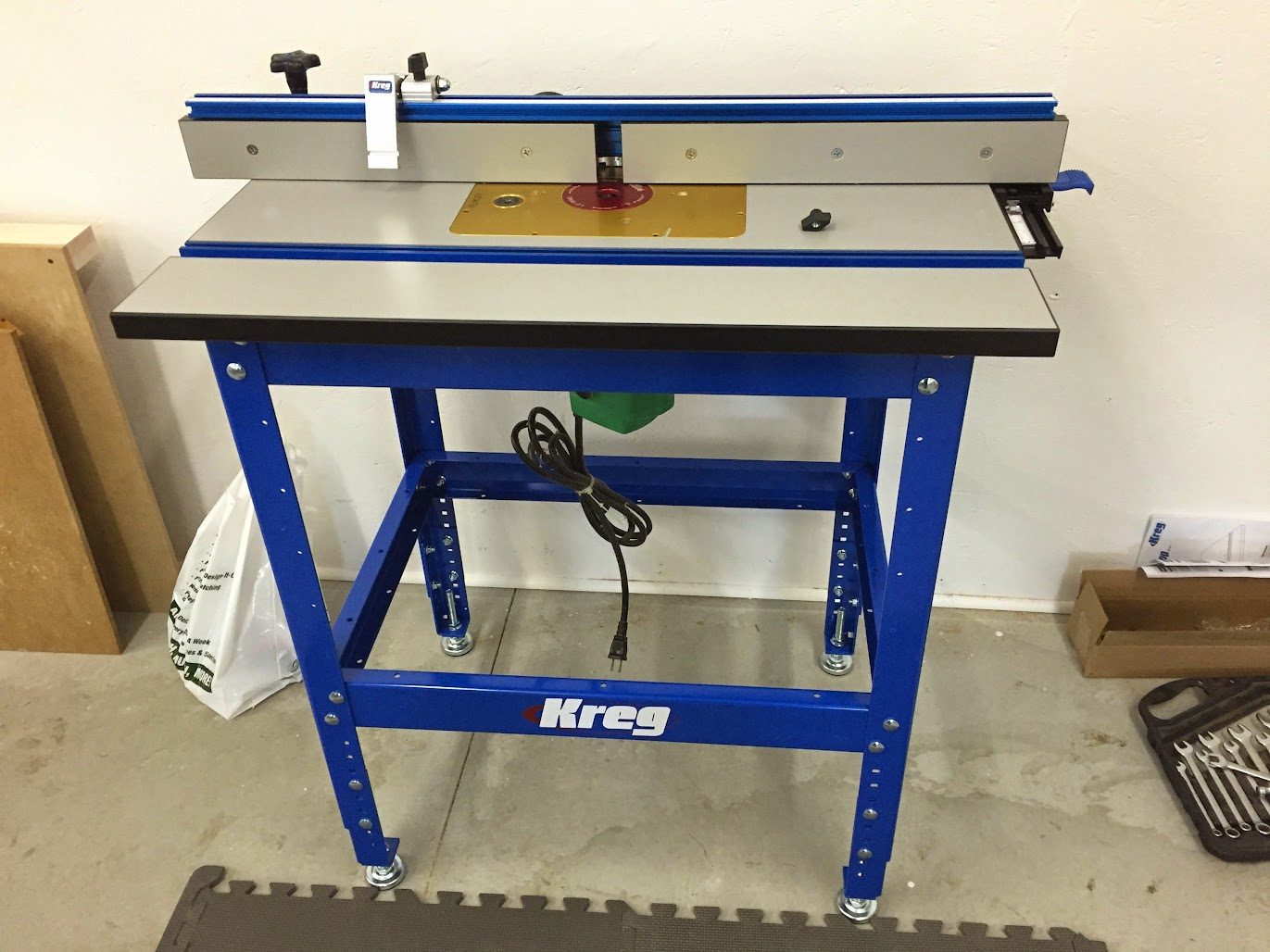 kreg router table which lift for kreg router table general woodworking 28924