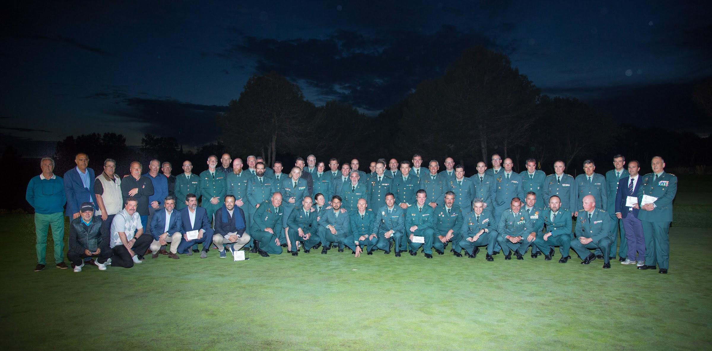 El VII Campeonato Nacional de la Guardia Civil de Golf se celebra en San Roque