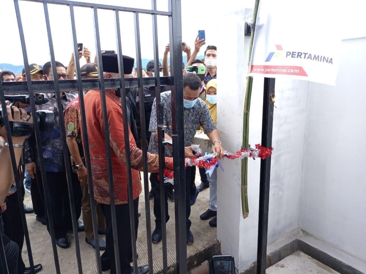 Jawab Keluhan Nelayan, SPBUN TPI Tarusan Diresmikan Gubernur Sumbar