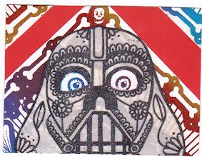 Photo: Wenchkin's Mail Art 366 - Day 210 - Card 210a