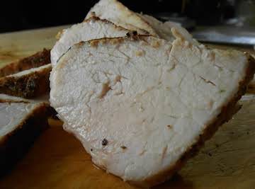 So easy Roasted Pork Loin
