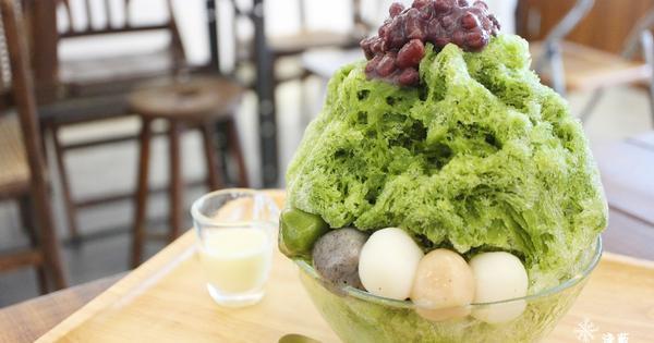 台中清水美食: Yorimichi 順道菓子店~抹茶冰和甜點一次都吃到