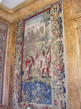Photo: The Salon des Tapisseries (Tapestry Room), located near the main entrance, is decorated luxurious tapestries and contains a copy of the French Constitution. This receiving room for visitors contains three large tapestries (placed here during Third Republic by President Félix Faure) depicting the history of Scipio, the Roman general who defeated Hannibal at Battle of Zama (I think - there was another general by the same name who led the final siege and destruction of Carthage a little later in 146 BC).