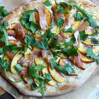 Nectarine and Prociutto Pizza