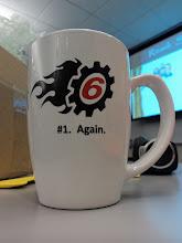 Photo: This is my custom, Chris Hammond autographed, DNN 6 mug. Smeared for authenticity