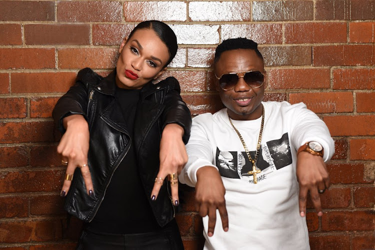 Pearl Thusi had uMalume aka DJ Tira as her guest on Behind The Story.