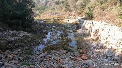 Photo: Rotada ilk şaşırmamız. Zeytinköy-Gölova Arası işaretlemesi. EFES MİMAS (İYON) YOLU 2. Etabı - 14.11.2015