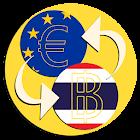 Thailand Baht Euro converter icon
