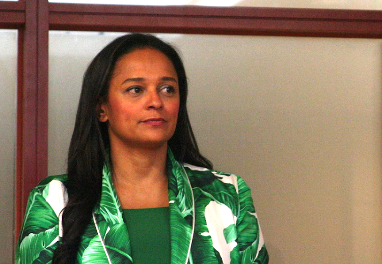Isabel dos Santos. Picture: REUTERS