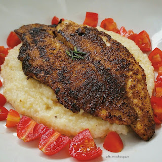 Blackened Catfish & Grits