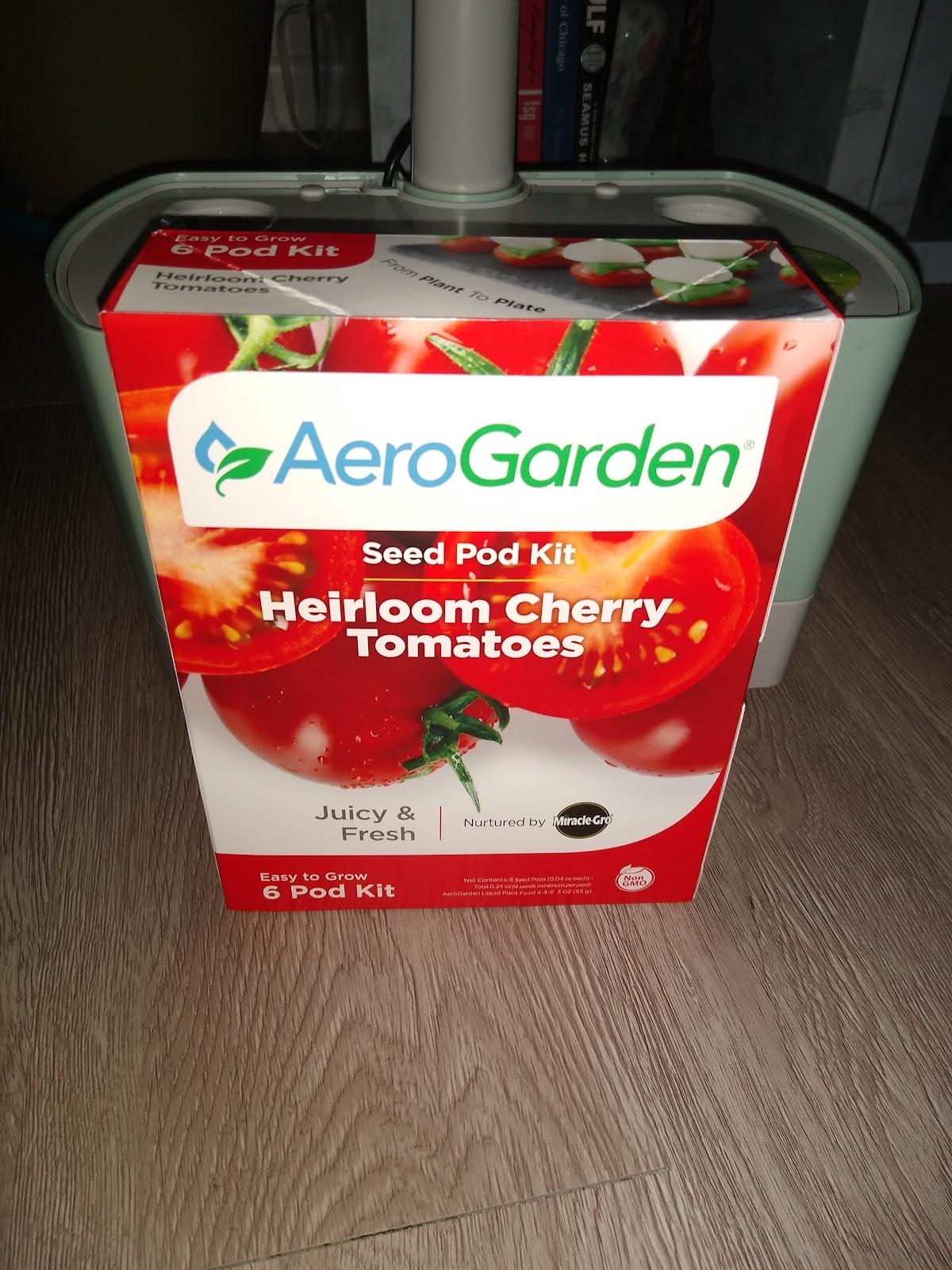 aerogarden red cherry tomato seed kit