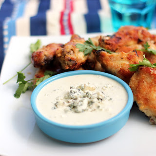 Buttery Oven Baked Chicken Wings.