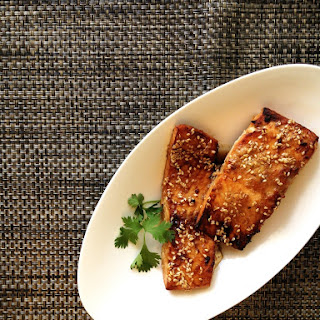 Broiled Sesame Salmon