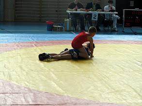 Photo: Pierre en rouge, Marc en bleu