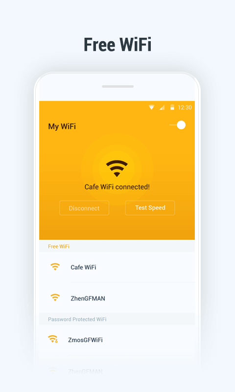 My Wifi Free Wifi Speed Test Android Apps On Google Play