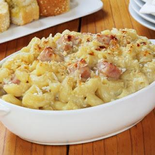 Macaroni and Cheese with Ham.