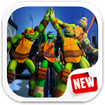 Hill Ninja Turtles Climb Icon