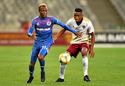 Kudakwashe Mahachi of SuperSport wants to cement his place in United's starting XI./Ashley Vlotman/Gallo Images