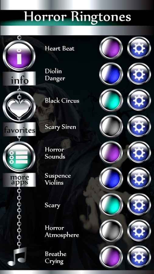 Horror Ringtones- screenshot