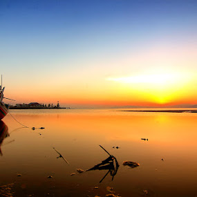 Terdampar by Marcell Boli - Landscapes Waterscapes