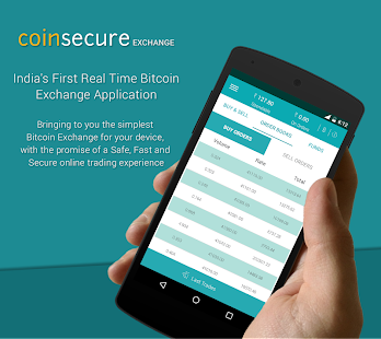 Coinsecure Bitcoin India- screenshot thumbnail