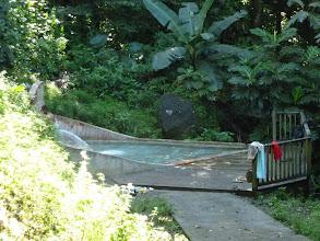 Photo: bain des amoureux Dolé (Basse Terre)