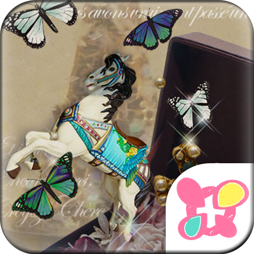 Butterflies Theme-Antique Box- Icon