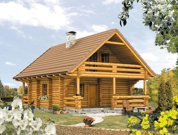 Budowa domu z bali - ile kosztuje?