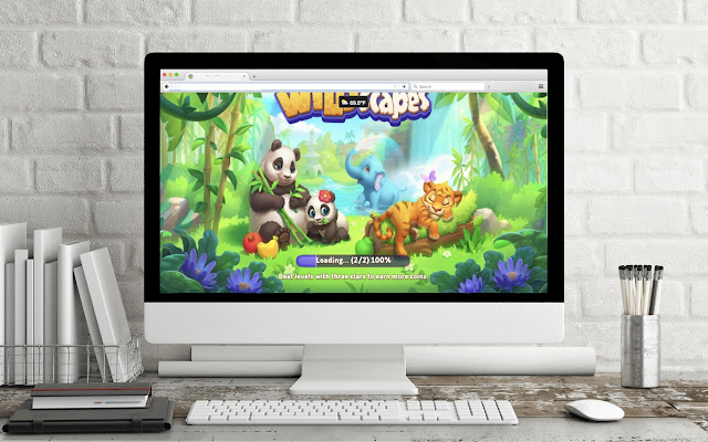Game Theme: WILDSCAPES 2