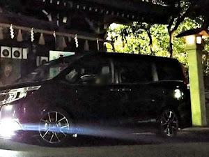 エスクァイア ZRR80G Gi ブラックテーラードのカスタム事例画像 パーシモン次郎さんの2018年11月08日05:31の投稿
