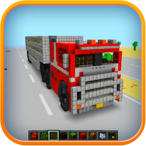 механический грузовик в майнкрафте #9