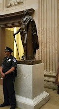 Photo: Yeah, we know this guy. Statue of George Washington donated to the National Statuary Hall Collection by Virginia in 1934 - http://www.aoc.gov/capitol-hill/national-statuary-hall-collection/george-washington