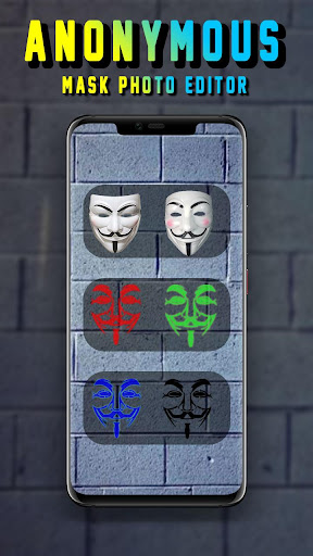 Anonymous Mask Camera - Hacker Mask 1.0.1 screenshots 3