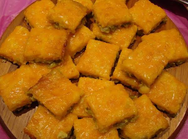 Mexican Jalepeno Squares Recipe