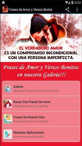 Frases de Amor y Versos Bonito screenshot 1