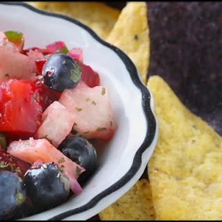 Strawberry, Blueberry & Jicama Salsa