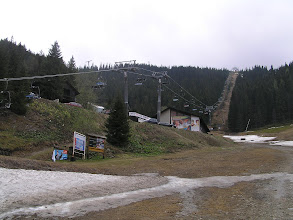 Photo: V lavo hore vidno vrch podpier