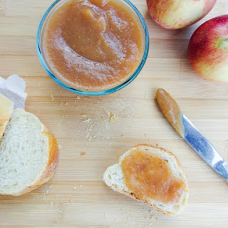 Slow Cooker Salted Date Caramel Apple Butter