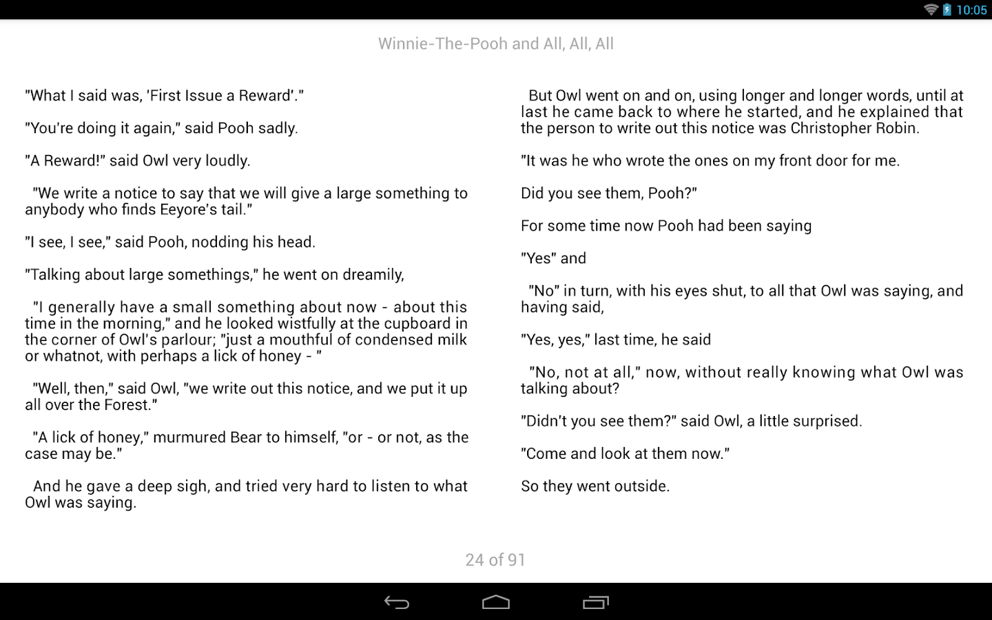 Parallel Texts Reader- screenshot