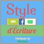 Style d'Ecriture pour SMS, WhatsApp et Facebook icon